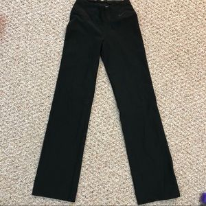 Nike bootcut leggings xs black pants Dri-fit